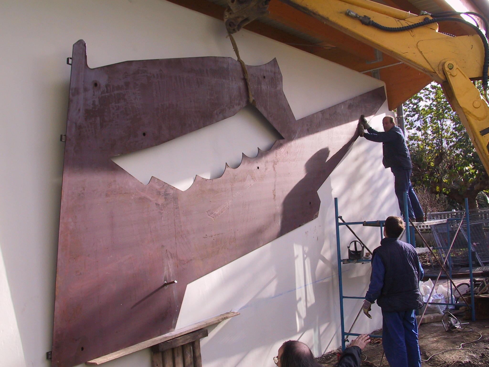construcción frontón ortuella